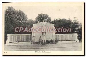 Old Postcard Epinal Monument