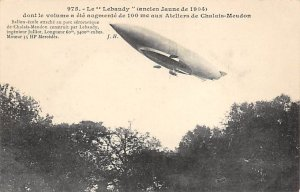 Le Lebaudy ancien Jaune de 1904 Zeppelin Unused