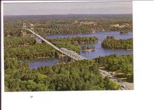Bridge, Thousand Islands, Ontario, Canada Post Office, Prestamped