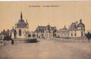 France Chantilly La Cour d'honneur