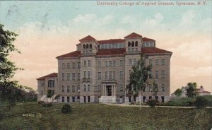 University College Of Applied Science Syracuse New York 1903