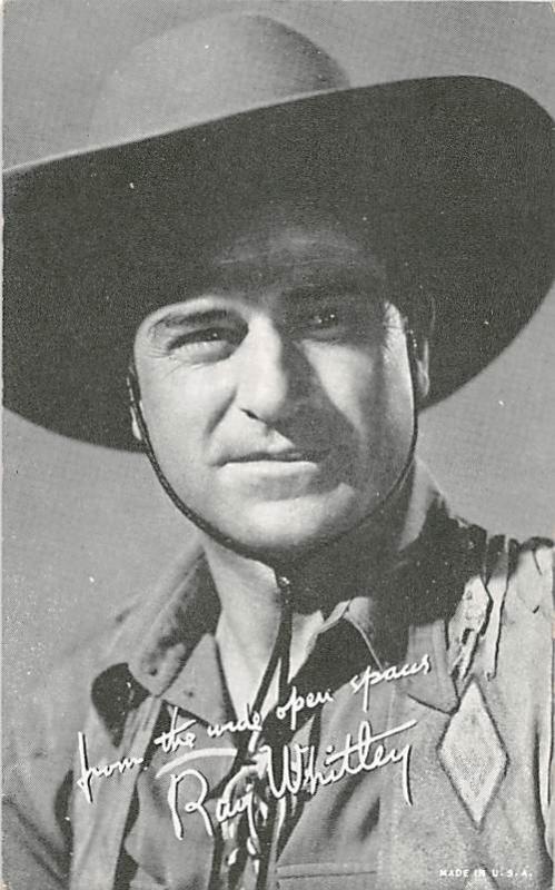 Roy Whitley Western Actor Mutoscope Unused