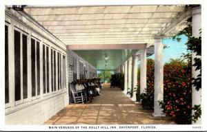 Florida Davenport The Holly Hill Inn Main Veranda