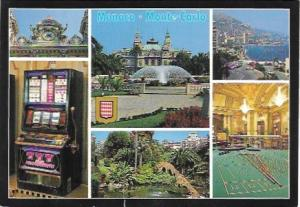 Monaco Monte-Carlo, Casino. Great pair of stamps.