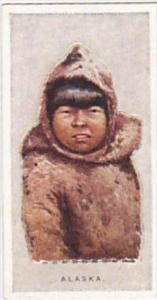 Wills Vintage Cigarette Card Children Of All Nations 1925 No 2 Alaska