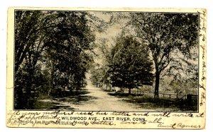 CT - East River. Wildwood Avenue