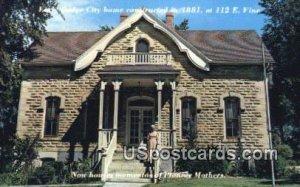 Home of Stone - Dodge City, Kansas KS