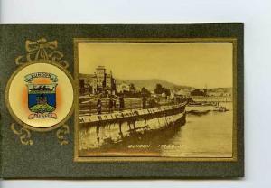 Scotland Dunoon Heraldic View Postcard 3