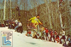 Continental-size XIII OLYMPIC WINTER GAMES LAKE PLACID 1980 Whiteface Mt.
