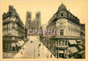Postcard Modern Brussels Eglise Ste Gudule