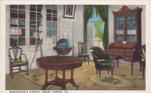 Washington's Library, Mount Vernon, Virginia, 00-10