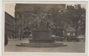 Finland; Helsinki, The 3 Smiths Statue RP PPC, c 1930's, Before Bomb Damage