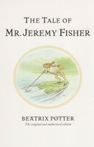 The Tale Of Mr Jeremy Fisher Beatrix Potter Book Postcard