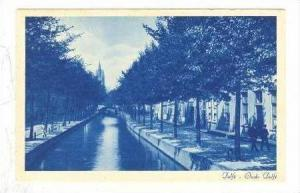 Delft, Netherlands, 1910s Oude Delfe Canal #2