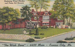 KANSAS CITY - Missouri , 1930-40s ; The Wish Bone Restaurant