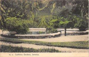 Jamaica, Jamaique Post card Old Vintage Antique Postcard Castleton Gardens Un...