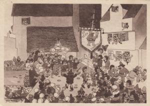 CHICAGO, Illinois, 1933 ; BELGIUM Pavilion ; The Spiritual Society