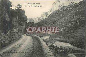 Old Postcard Gorges du Tarn King Rapides