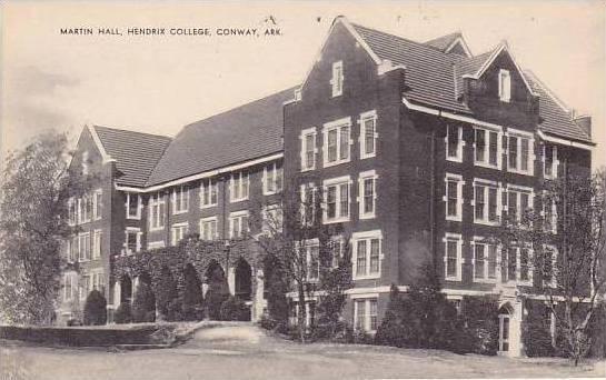 Arkansas Conway Hendrix College Martin Hall Artvue