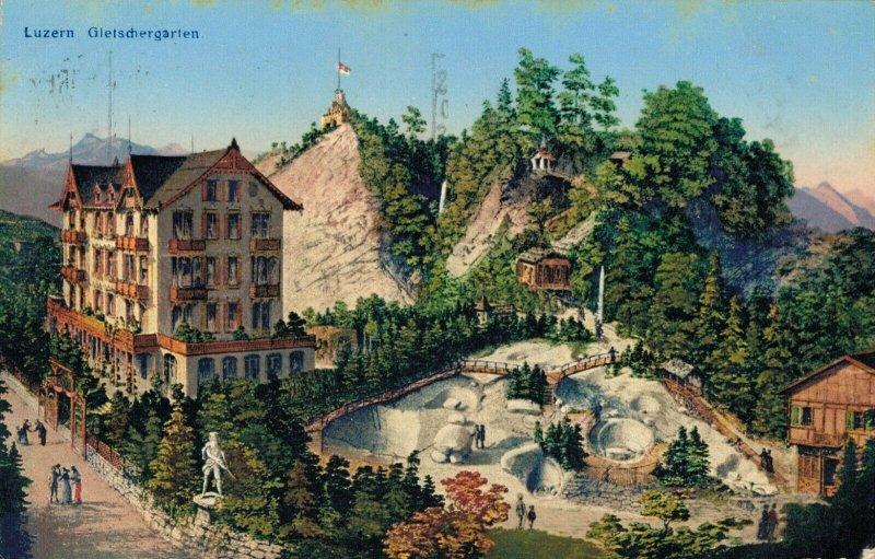 Switzerland - Luzern Gletschergarten 03.44