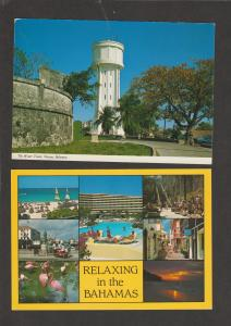 Two Postcards THE BAHAMAS Nassau Scenic Water Tower