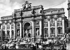 Italy Roma Fontana di Trevi Fountain Brunnen