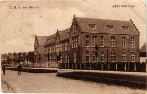 CPA APPINGEDAM H.B.S. met Station NETHERLANDS (706135)