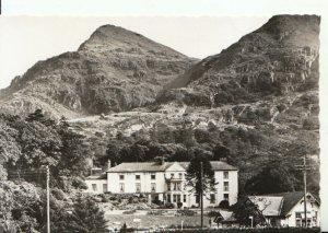 Wales Postcard - Royal Victoria Hotel - Llanberis - Real Photograph - Ref 17356A