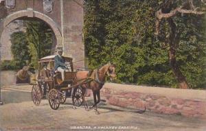 Gibraltar A Hackney Carriage