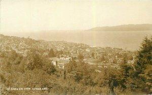 Astoria Oregon Birdseye View #1 C-1910 RPPC Photo Postcard 21-10408