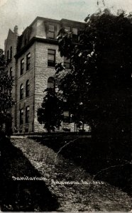 Iowa Anamosa Sanitarium 1910