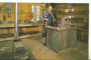 America Postcard - Tinsmith at Work In His Shop, Old Sturbridge Village - 16264A