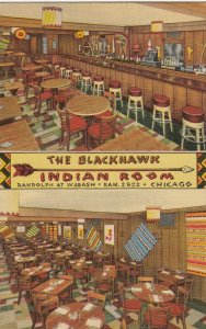 CHICAGO , Illinois, 1930-40s The Blackhawk Indian Room