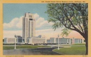 BETHESDA, Maryland, 1930-40s; United States Naval Medical Center
