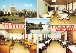 Petersfeld Hotel und Campingplatz Einhaus Thuelsfelder Talsperre Pension