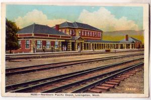 Northern Pacific Depot, Livingston MT