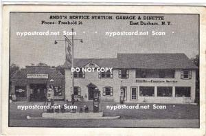 Andy's Service Station, Garage & Dinette, E Durham NY