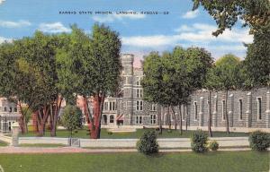 Lansing Kansas~Kansas State Prison~1940 Postcard