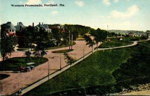 Maine Portland Western Promenade