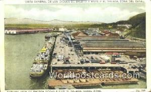 Panama Canal Zone Balboa Docks & Pier 18