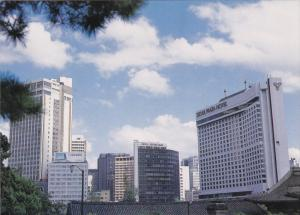 SEOUL, South Korea, 1950-1970; Palace and Streets, Seoul Plaza Hotel, Seoul C...