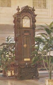 Louisiana New Orleans Antique Grandfather Clock Lobby The Monteleone Hotel