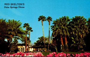 California Palm Springs Red Skelton's Home