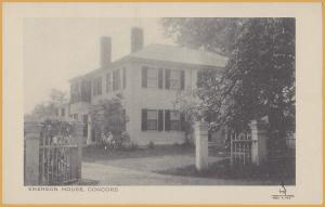 Concord, Mass., Emerson House-The Maynards-Waban, Mass.,