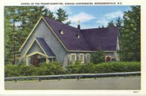 Chapel of the Transfiguration, Kanuga Conferences, Hendrsonville, North Carol...