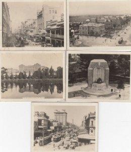 ADELAIDE , South Australia , 1910-20s ; 5 mini views