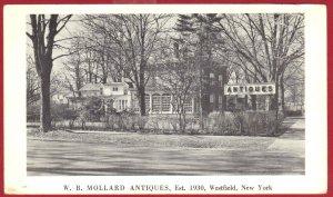 W. B. MOLLARD ANTIQUES, EST.1930 WESTFIELD NEW YORK