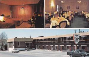 Hotel-Motel Le Chateau d'Amos , AMOS , Quebec , Canada , 50-60s