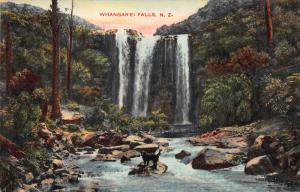 Whangarei Falls, New Zealand, Early Postcard, Unused