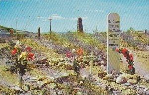 Arizona Tombstone Graves Of Billy Clanton Tom Mclowery & Frank Mclowery B...